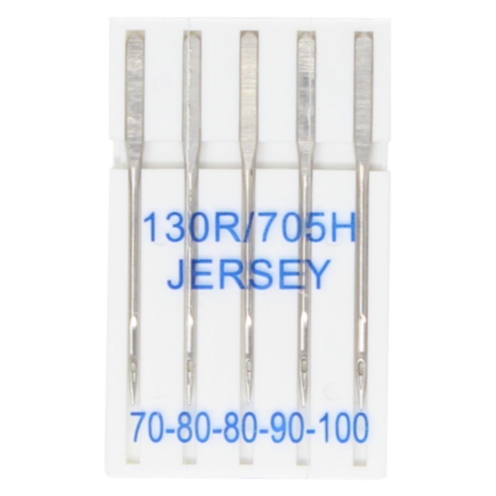 5 Jersey Nähmaschinennadeln 130R/705H