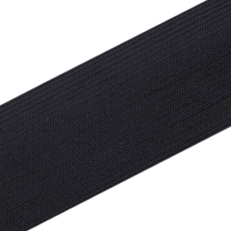 2 Meter Gummiband mit 30 mm Breite in Schwarz