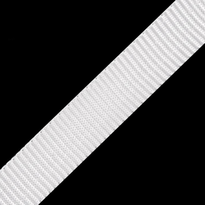 Gurtband - 15mm - Weiß