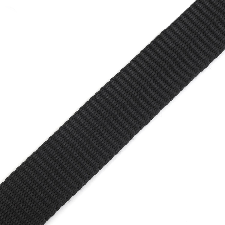 Gurtband - 15mm - Schwarz