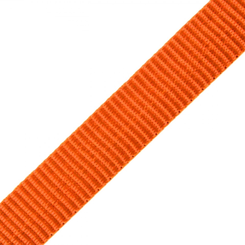 Gurtband - 15mm - Dunkelorange (20)