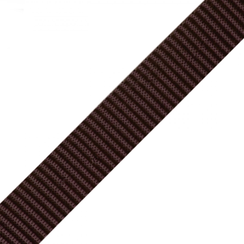 Gurtband - 15mm - Dunkelbraun (77)
