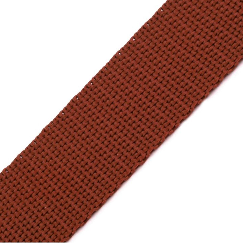 Gurtband - 15mm - Braun (78)