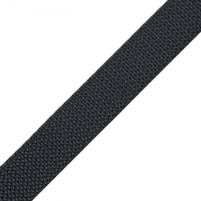 Gurtband - 15mm - Anthrazit (80)
