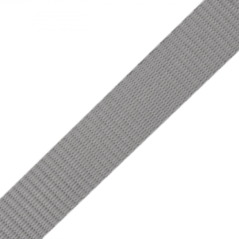 Gurtband - 15mm - Hellgrau (88)