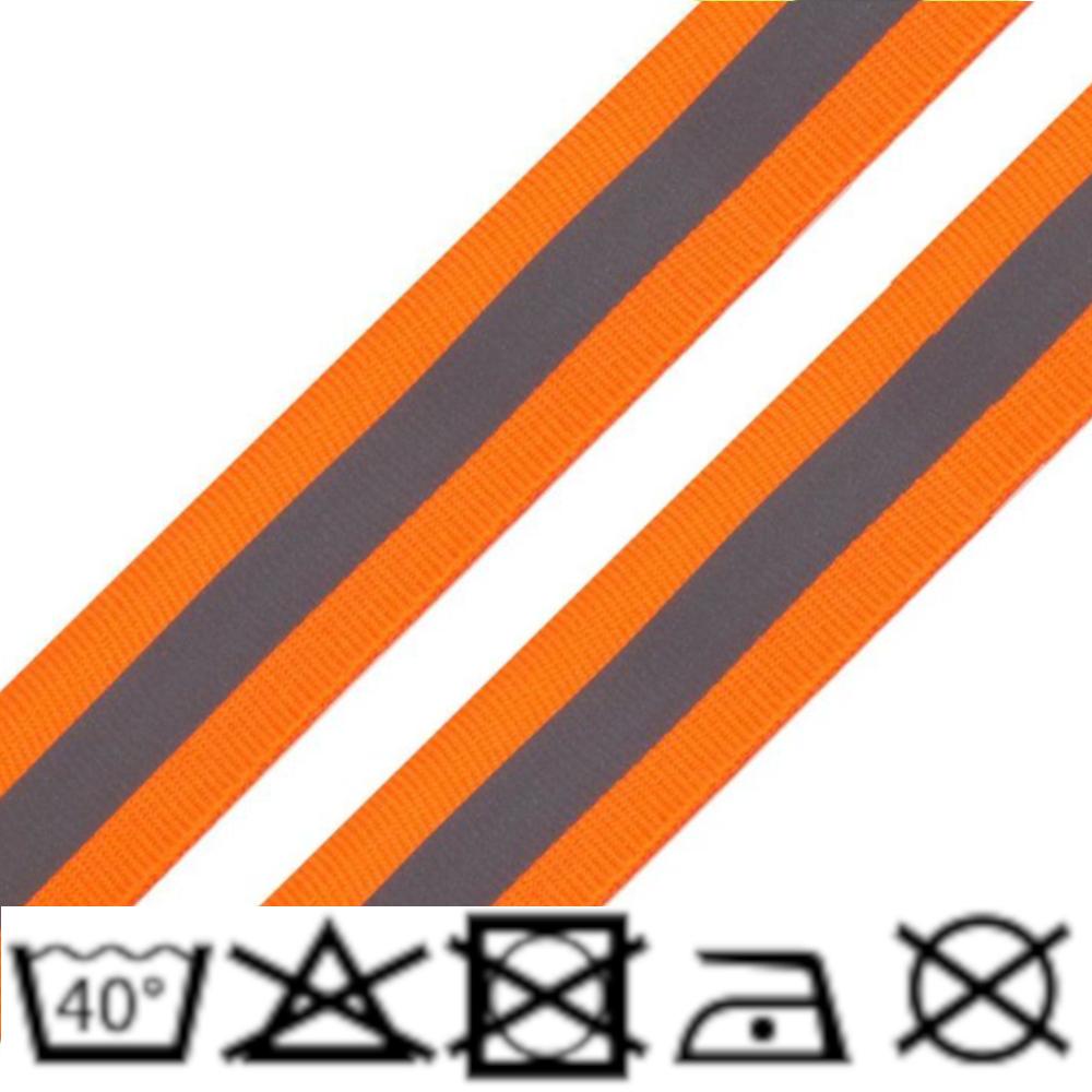 Reflexband - 25mm - Neon Orange