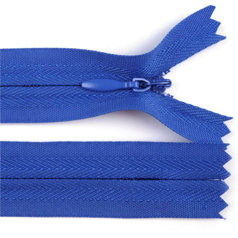 Reißverschluss - 30cm - nicht trennbar - Blau (213)