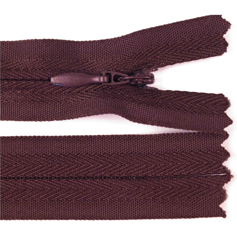 Reißverschluss - 30cm - nicht trennbar - Bordeaux Rot (179)