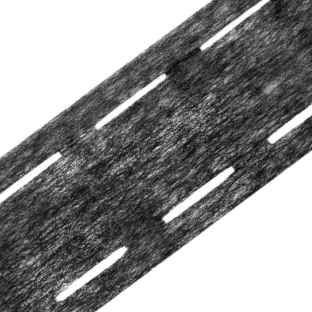 Bügelband / Perfoband 10-35-10 für Gürtel in Antharzit