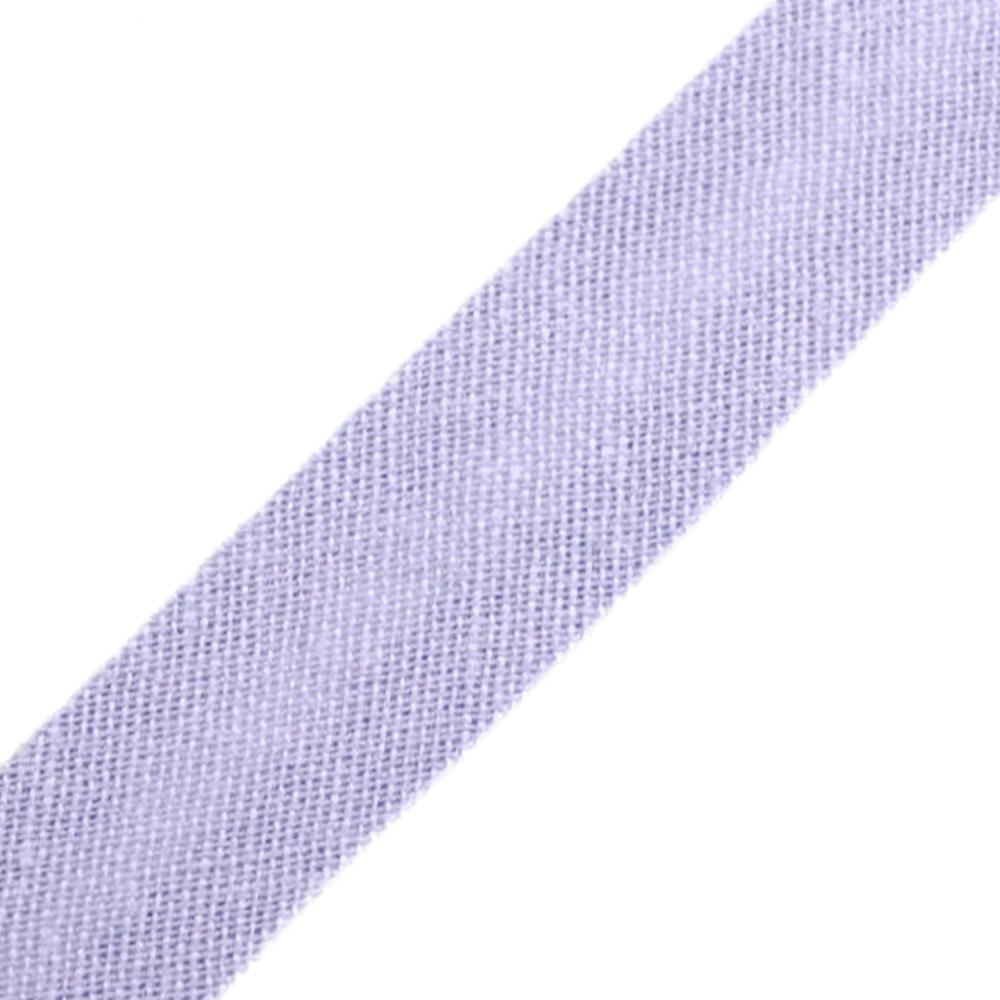 Schrägband aus Baumwolle 14mm breit gefalzt in Lila 176