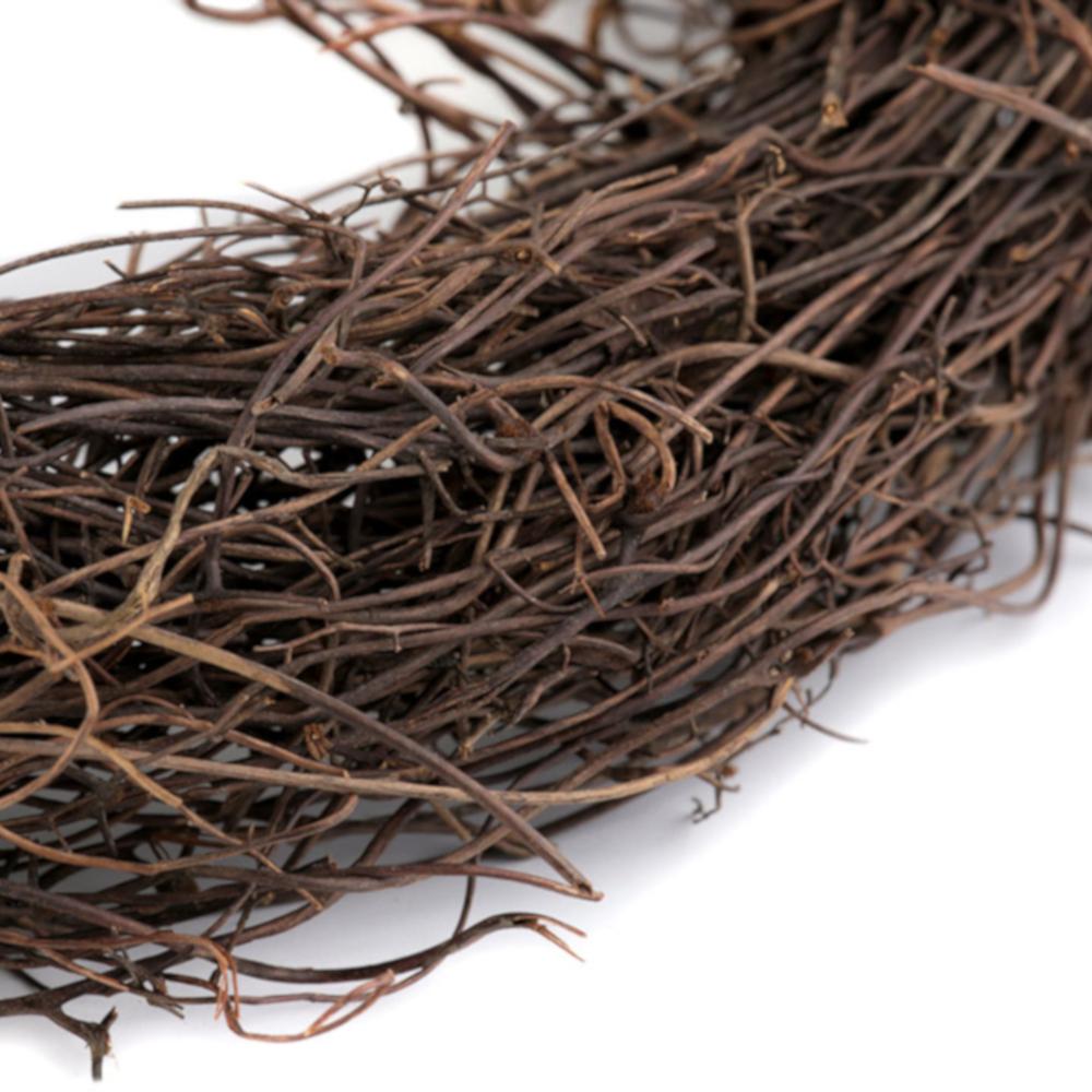 Weidenkranz mit 15cm Durchmesser aus natürlichen Weidenholz