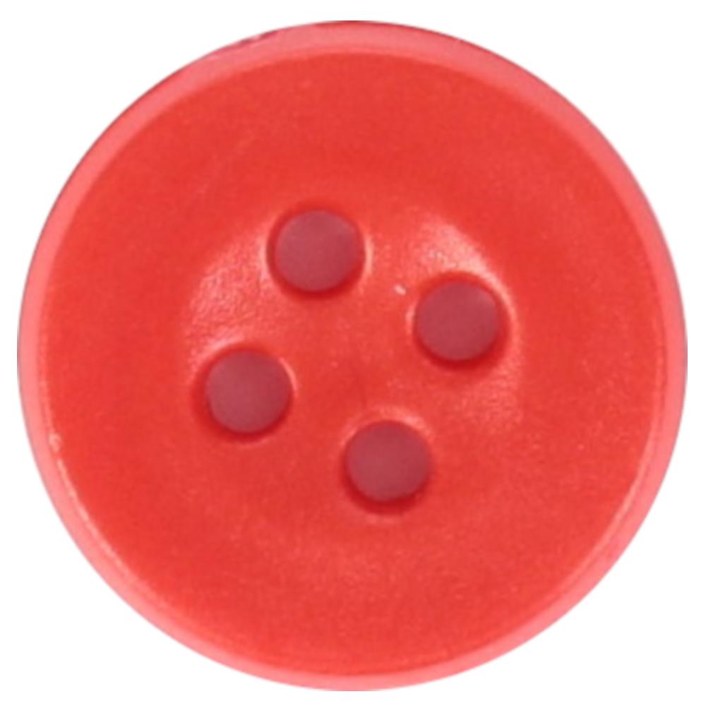 "10 Knöpfe - 26"" - 16,5mm in Rot"