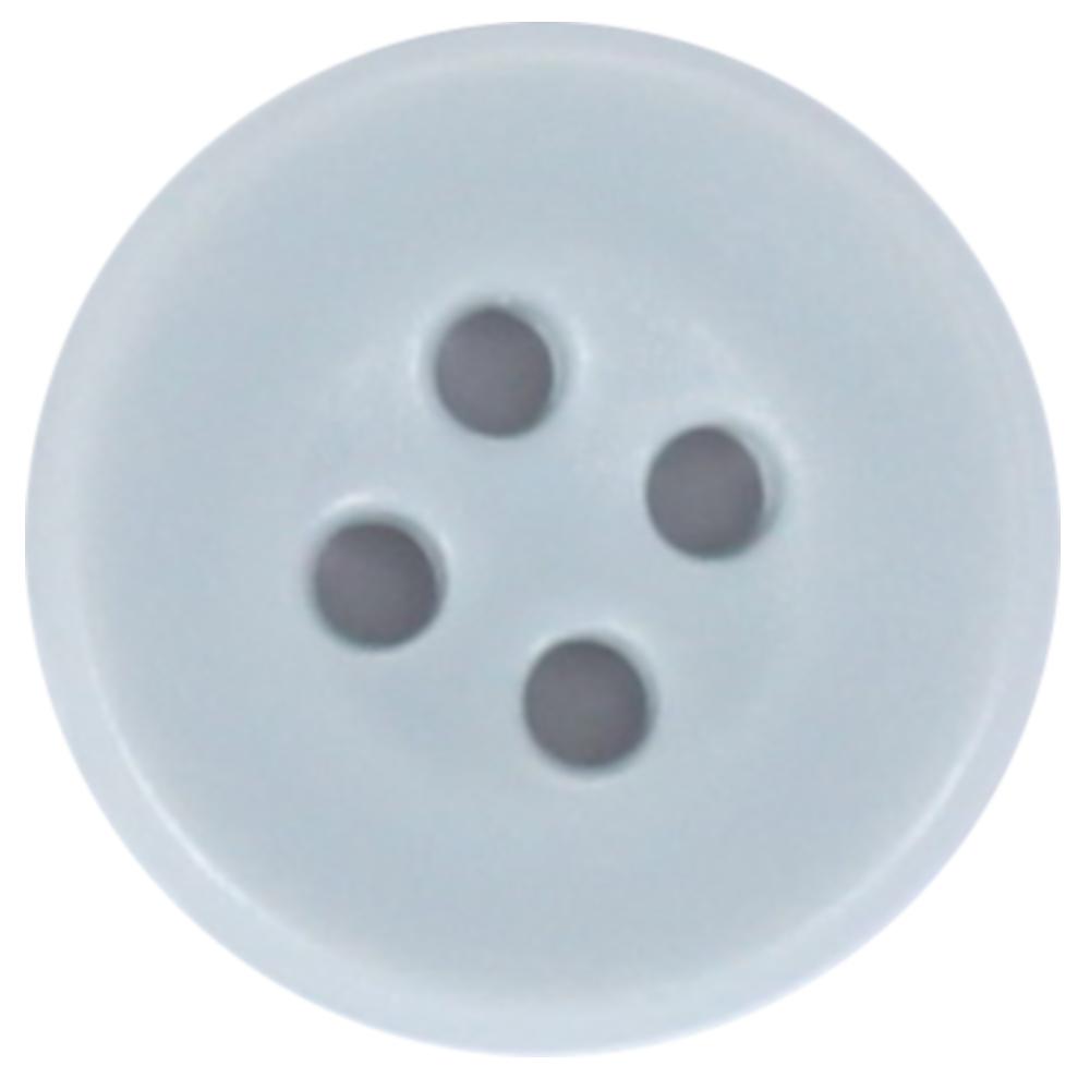 "10 Knöpfe - 26"" - 16,5mm in Grau"