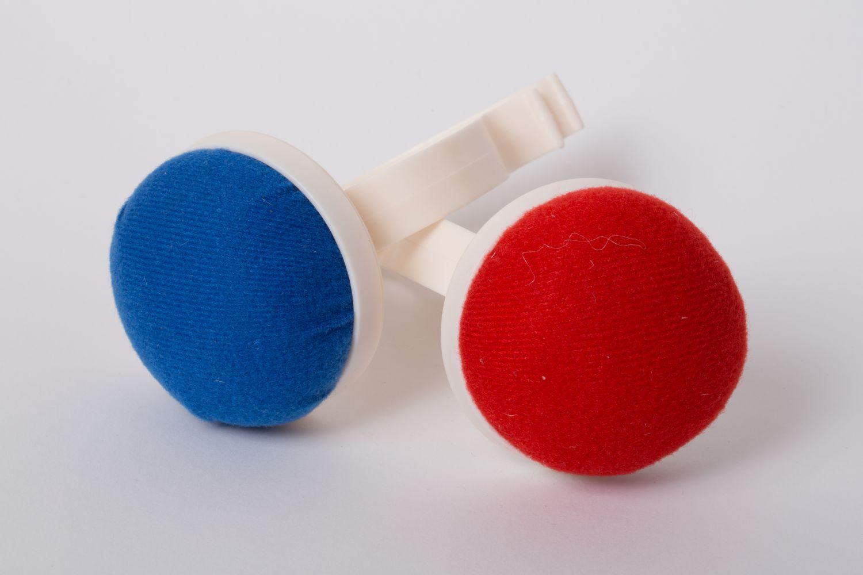 Nadelkissen Armhalter - Rot