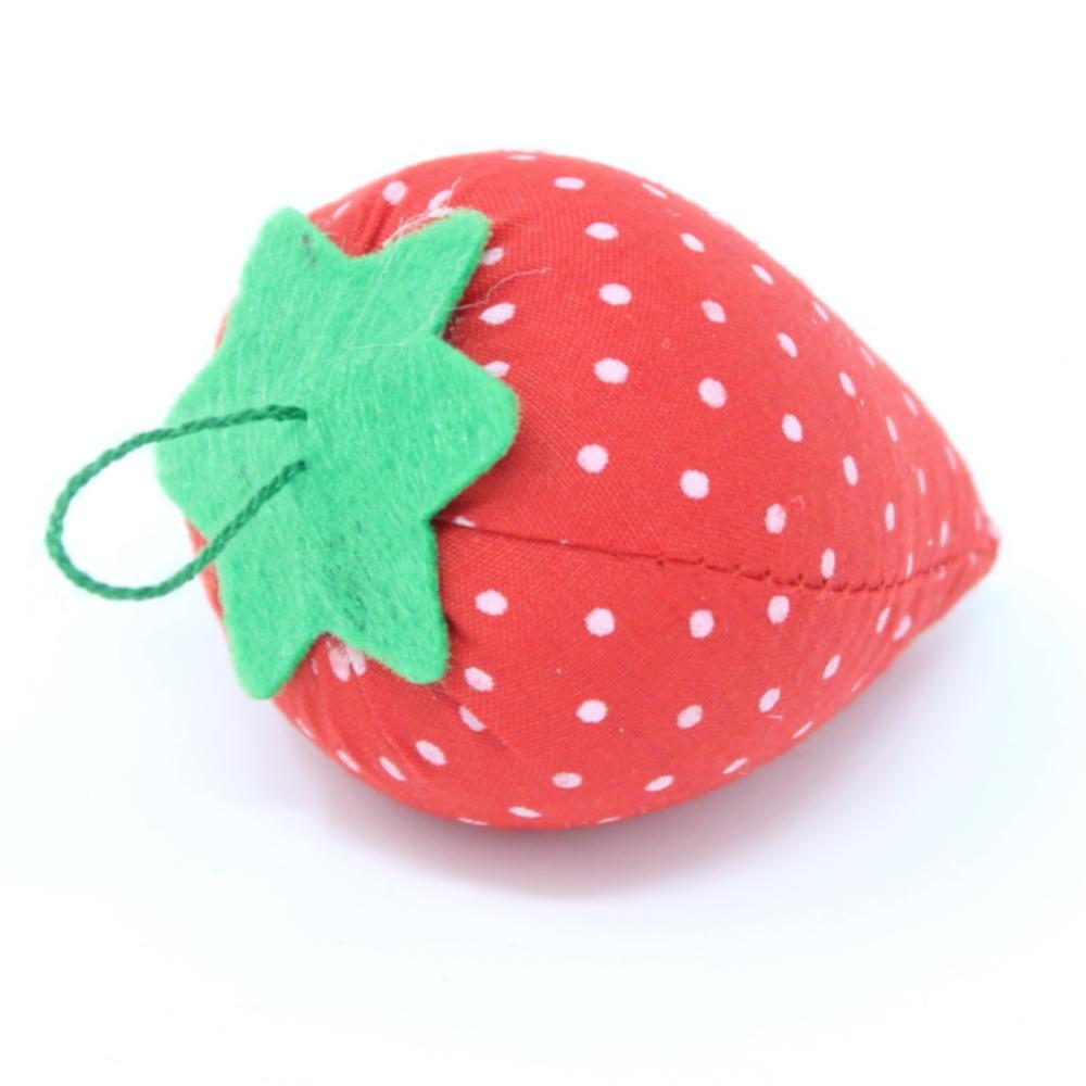 Nadelkissen  Erdbeere