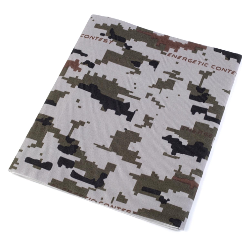 Bügelflicken Camouflage 17x43 cm - Hellgrau (2)