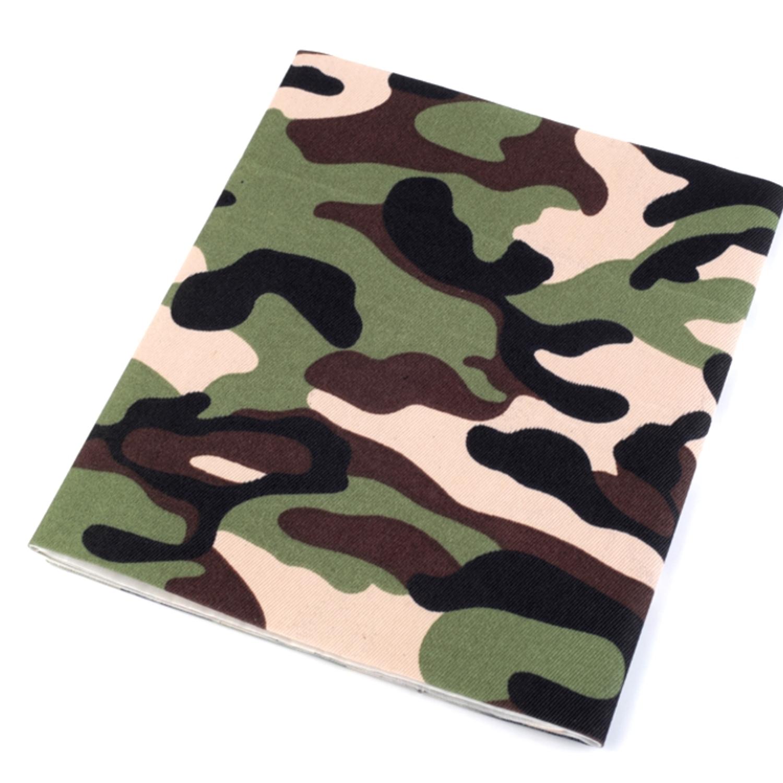 Bügelflicken Camouflage 17x43 cm - Naturfarbe (3)