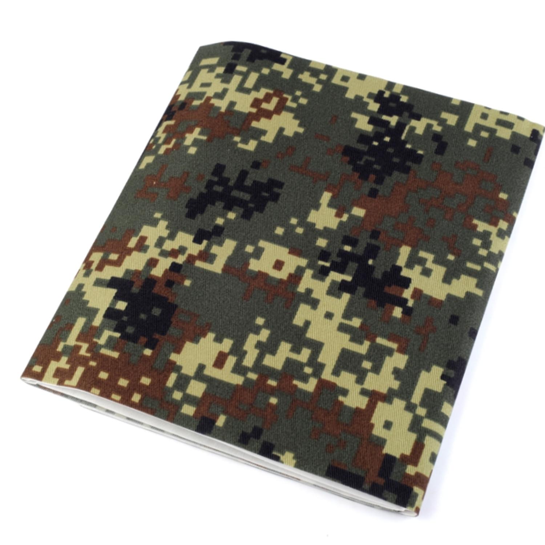 Bügelflicken Camouflage 17x43 cm - Moosgrün (5)