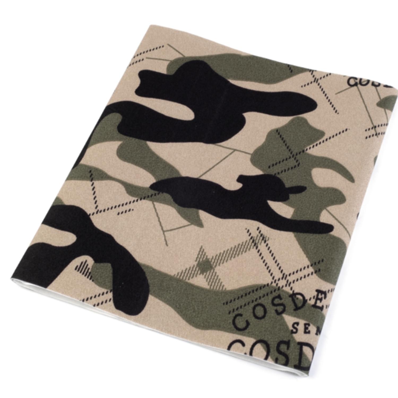 Bügelflicken Camouflage 17x43 cm - Naturbraun (6)