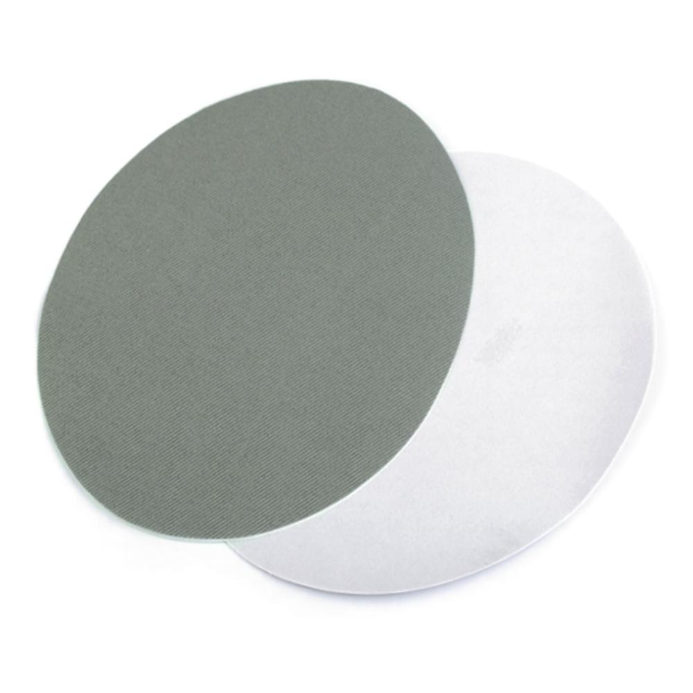 2x Bügelflicken 11x14cm für Jeansstoffe in Grau-Grün (3)