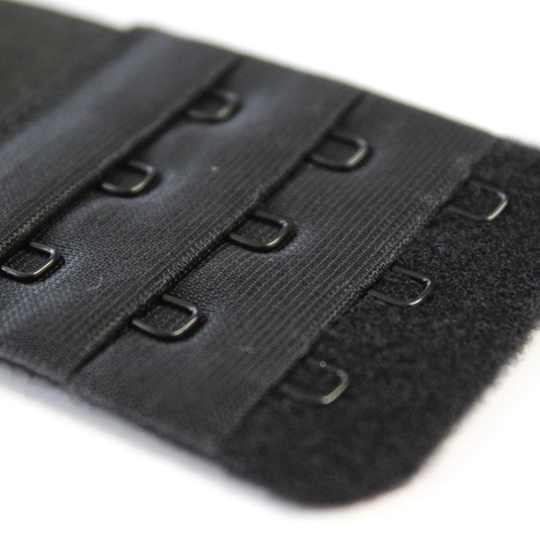 BH-Verlängerung - 45mm - 3x3 Haken in Schwarz