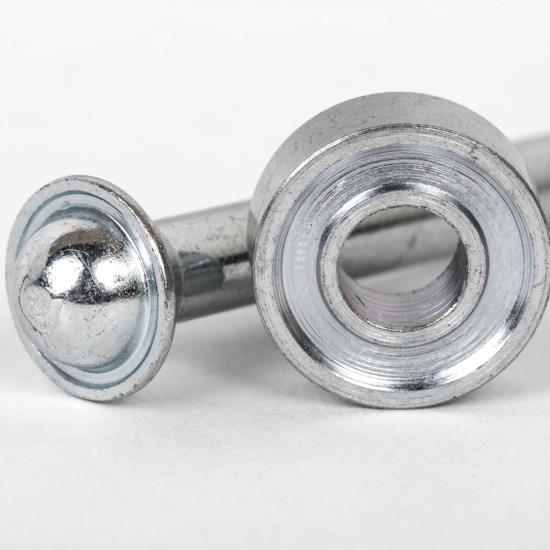 Ösenwerkzeug: Oberteil & Unterteil für 8mm Ösen