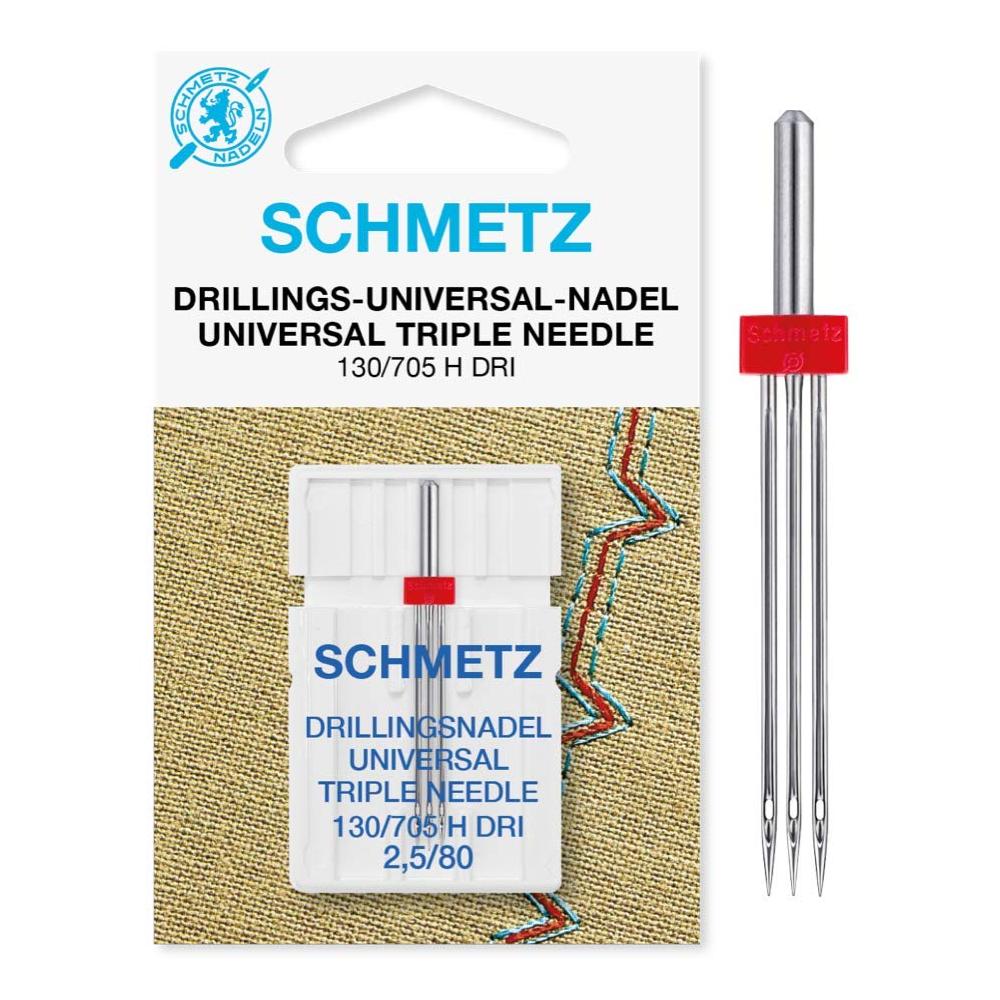 1 Drilling Universal Maschinennadel   130/705 H DRI   Nadeldicken: 2,5/80