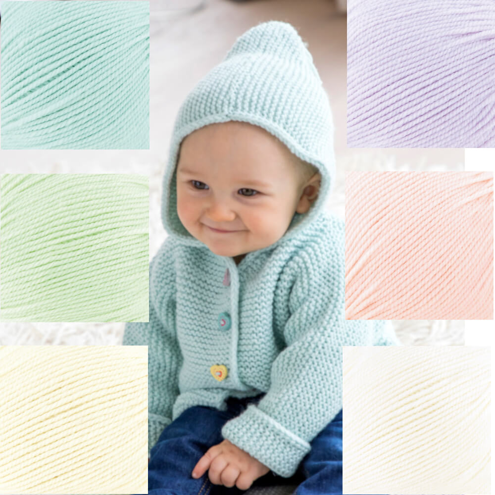 GR | Baby Cashmere Wolle 50 g - 100 Meter