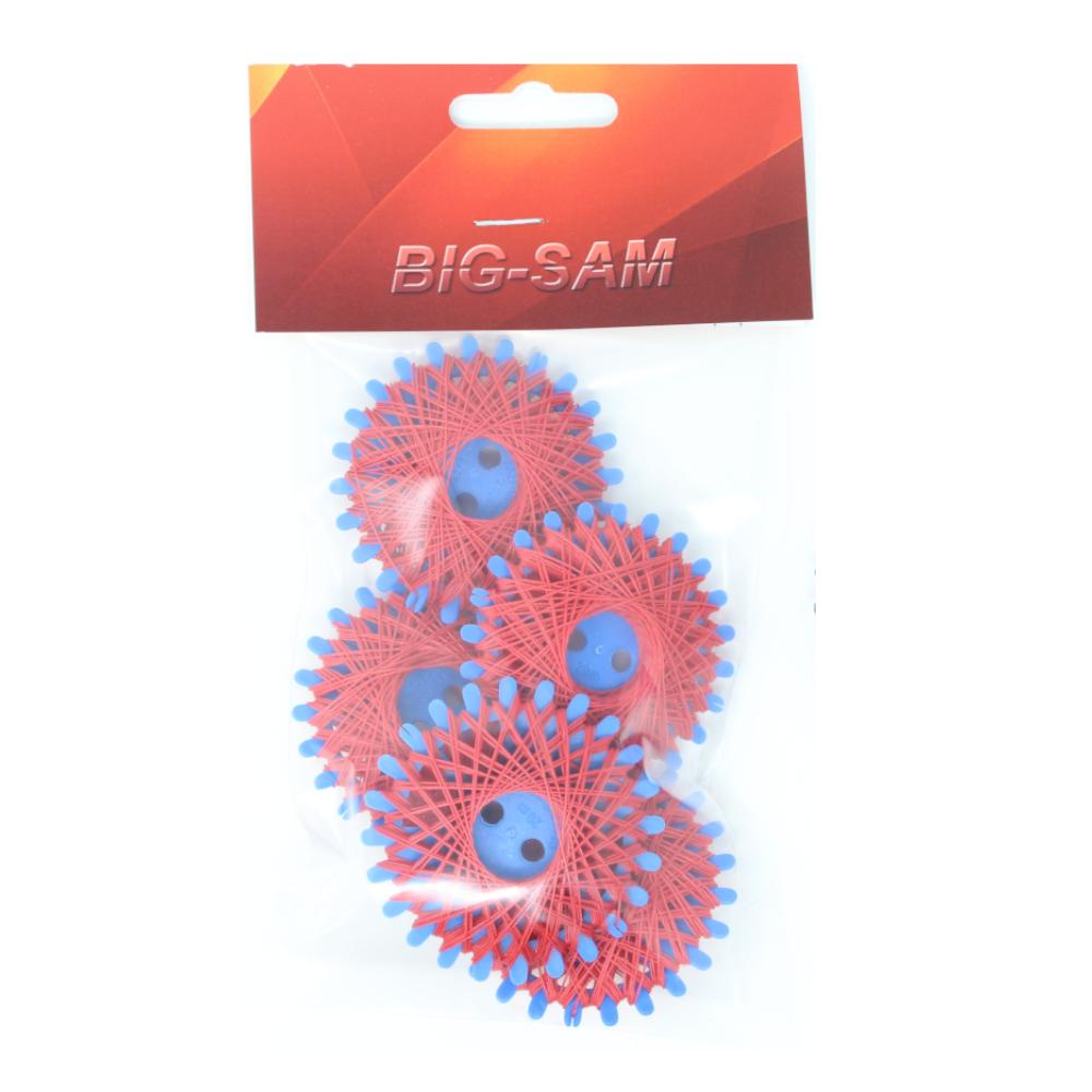 5x Sternzwirn mit je 20m aus 100% Baumwolle Nm 30/3 in Rot
