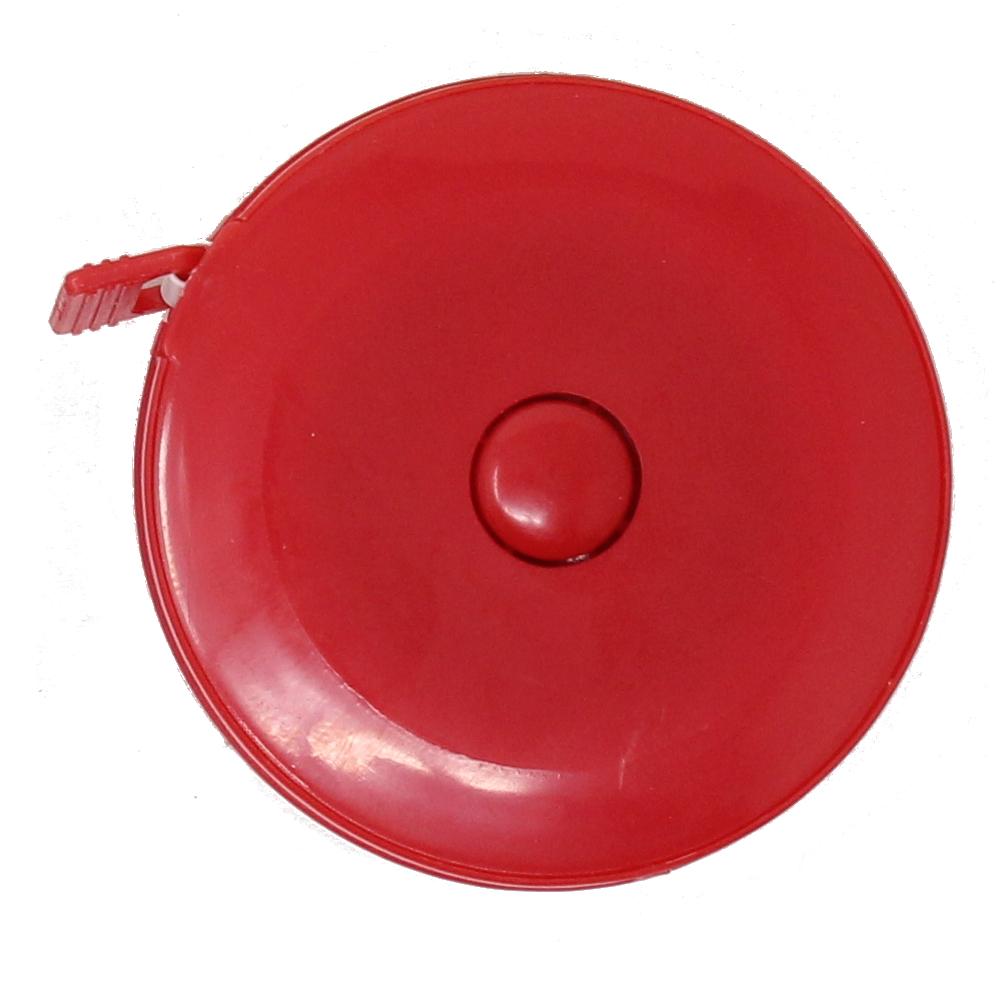 Rollmaßband - Bandmaß - 150cm / 60 inch in ROT