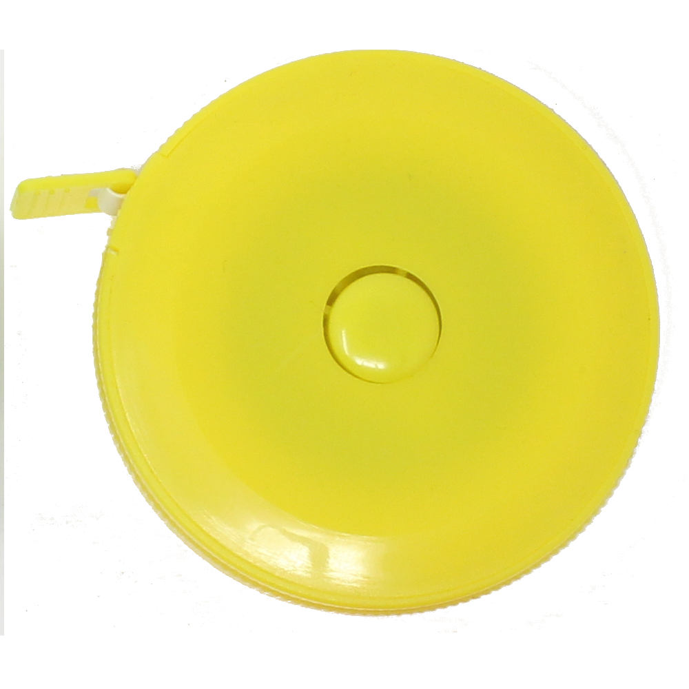 Rollmaßband - Bandmaß - 150cm / 60 inch in GELB