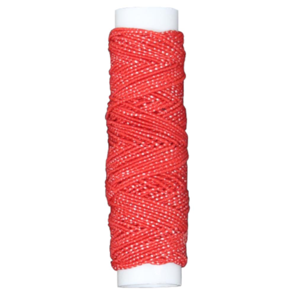 10 Meter Hutgummi - Gumminähfaden in Rot