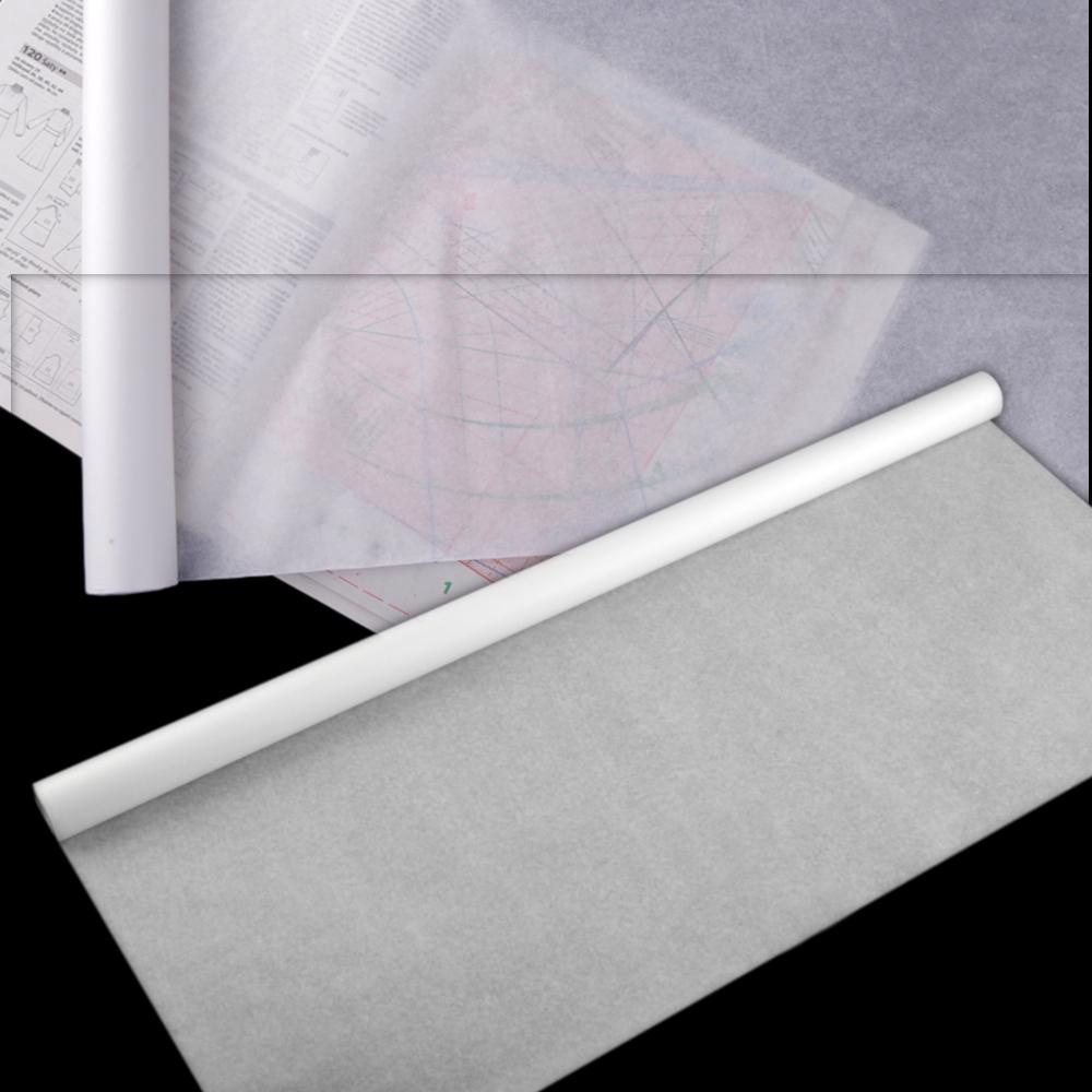 Schnittmusterpapier 0,7 x 10m in Weiß