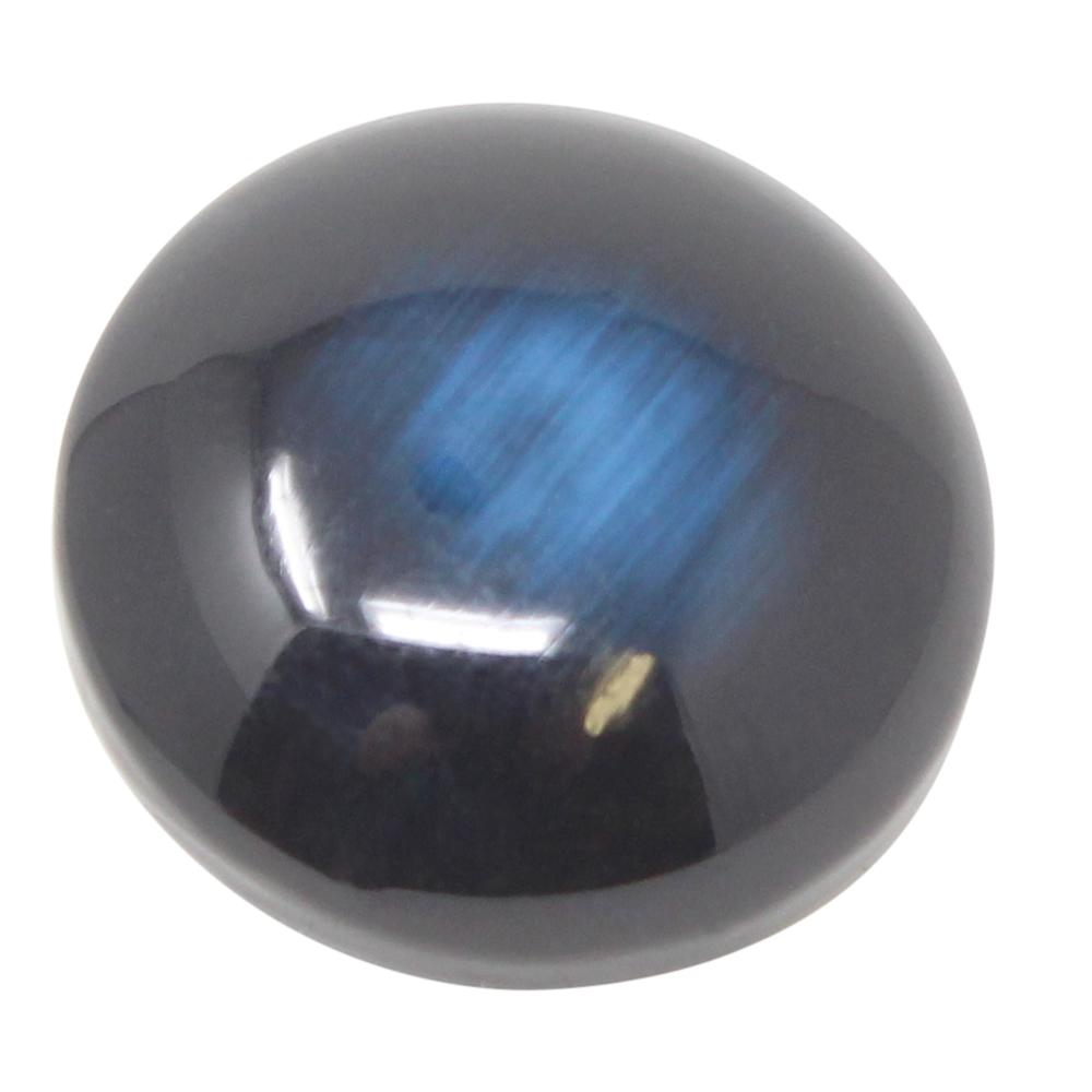 4 Augen Ösenknöpfe - 25mm Ø - 10mm Höhe - Blau