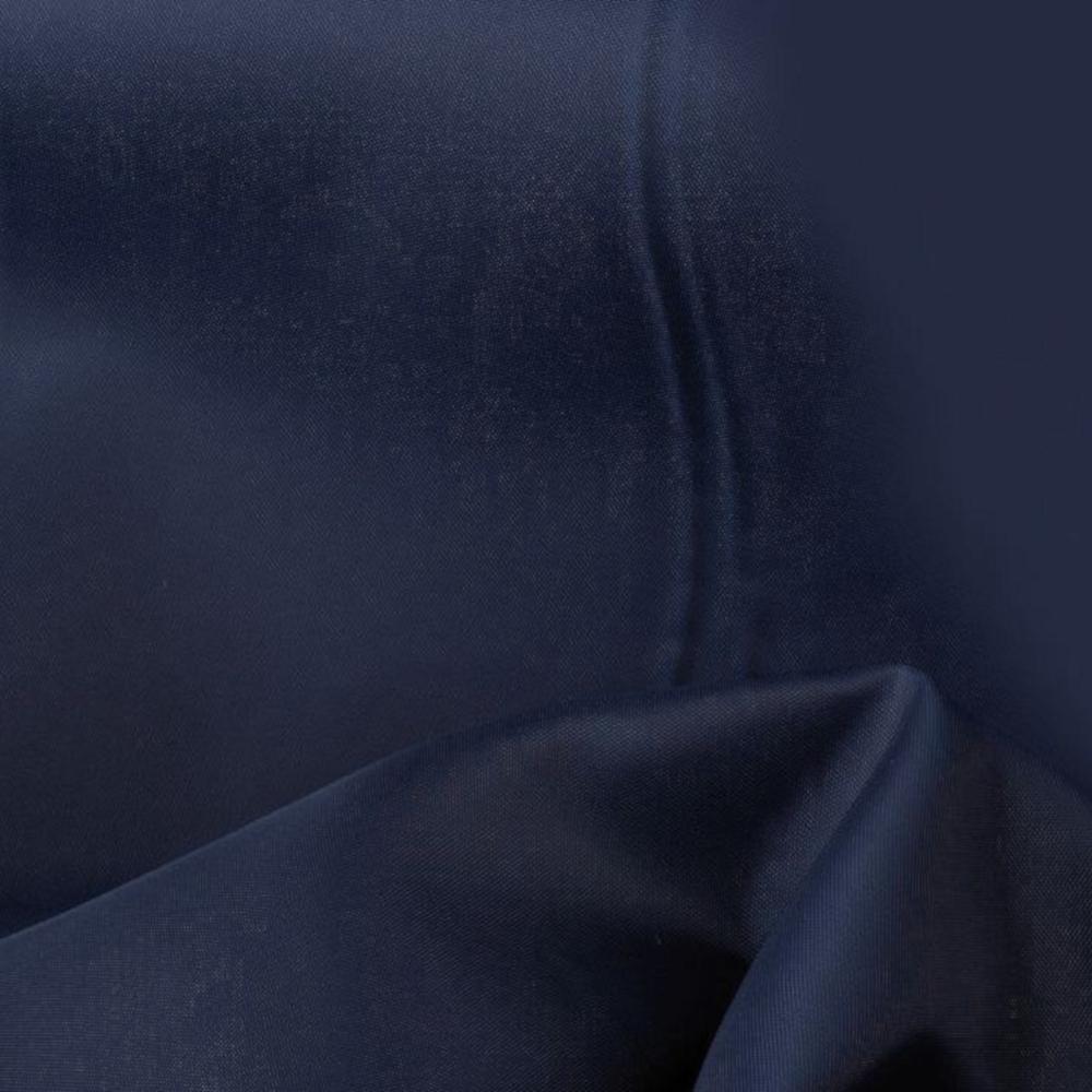 0,5m | Futterstoff 150cm Breit aus 100% Polyester in Dunkelblau
