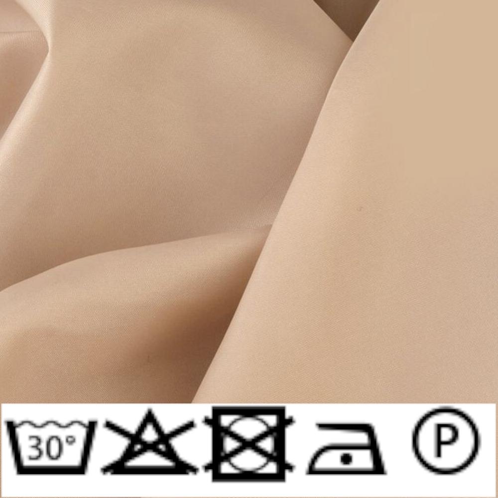 0,5m   Futterstoff 150cm Breit aus 100% Polyester in Beige