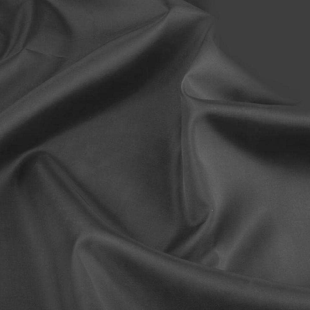 0,5m | Futterstoff 150cm Breit aus 100% Polyester in Grau-Trüb