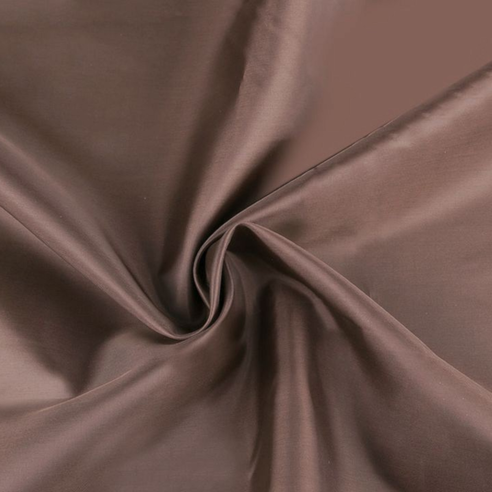 0,5m | Futterstoff 150cm Breit aus 100% Polyester in Hellbraun