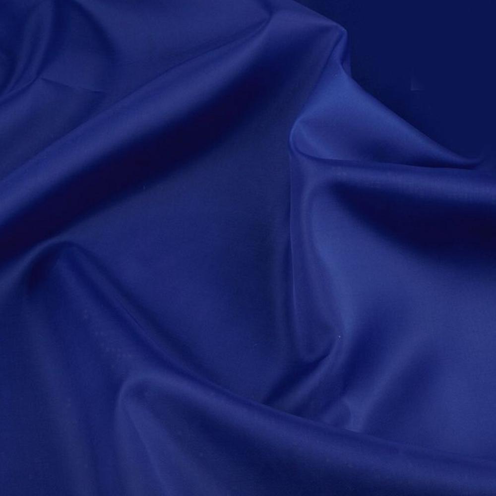 0,5m | Futterstoff 150cm Breit aus 100% Polyester in Marine Blau