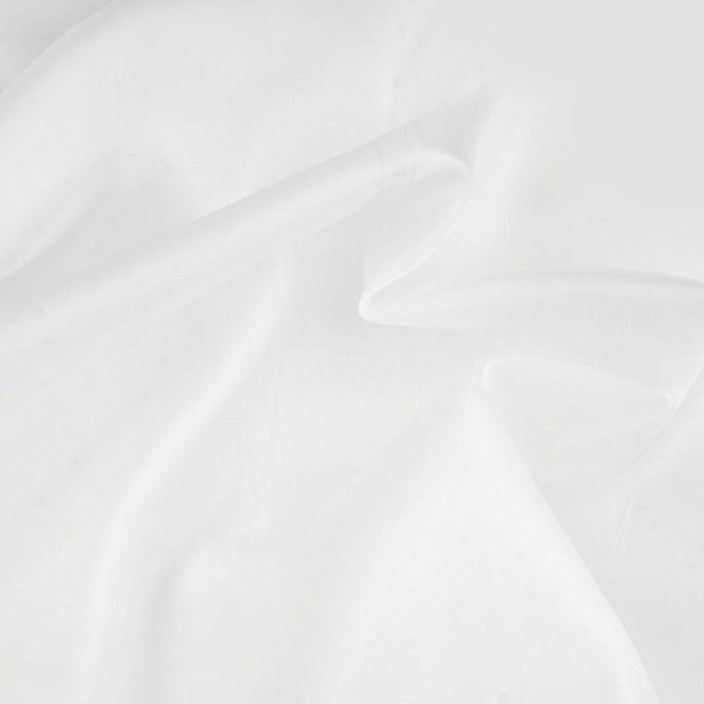 0,5m   Futterstoff 150cm Breit aus 100% Polyester in Weiß