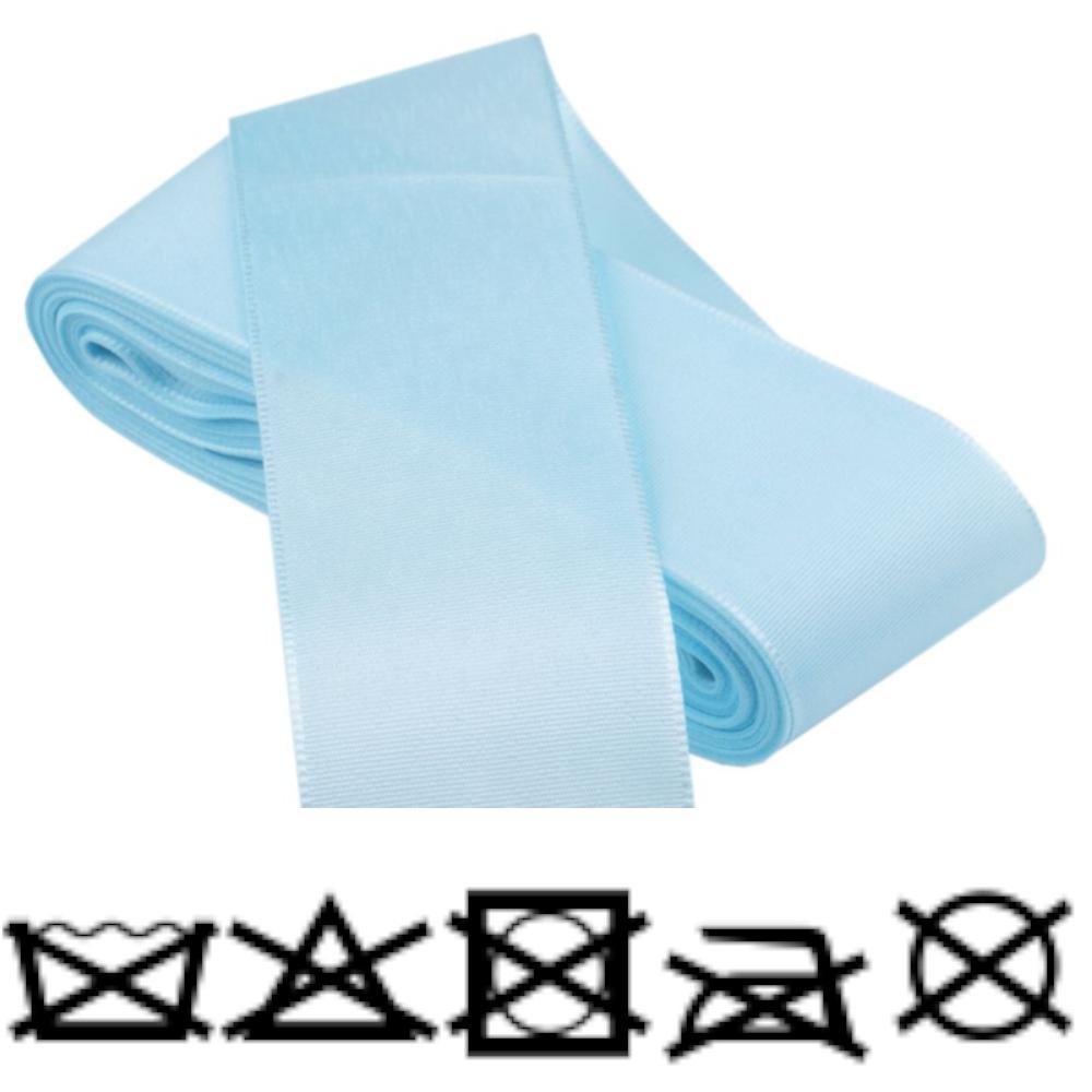 Taftband - Schleifenband - aus Polyester 52mm Breit in Hellblau