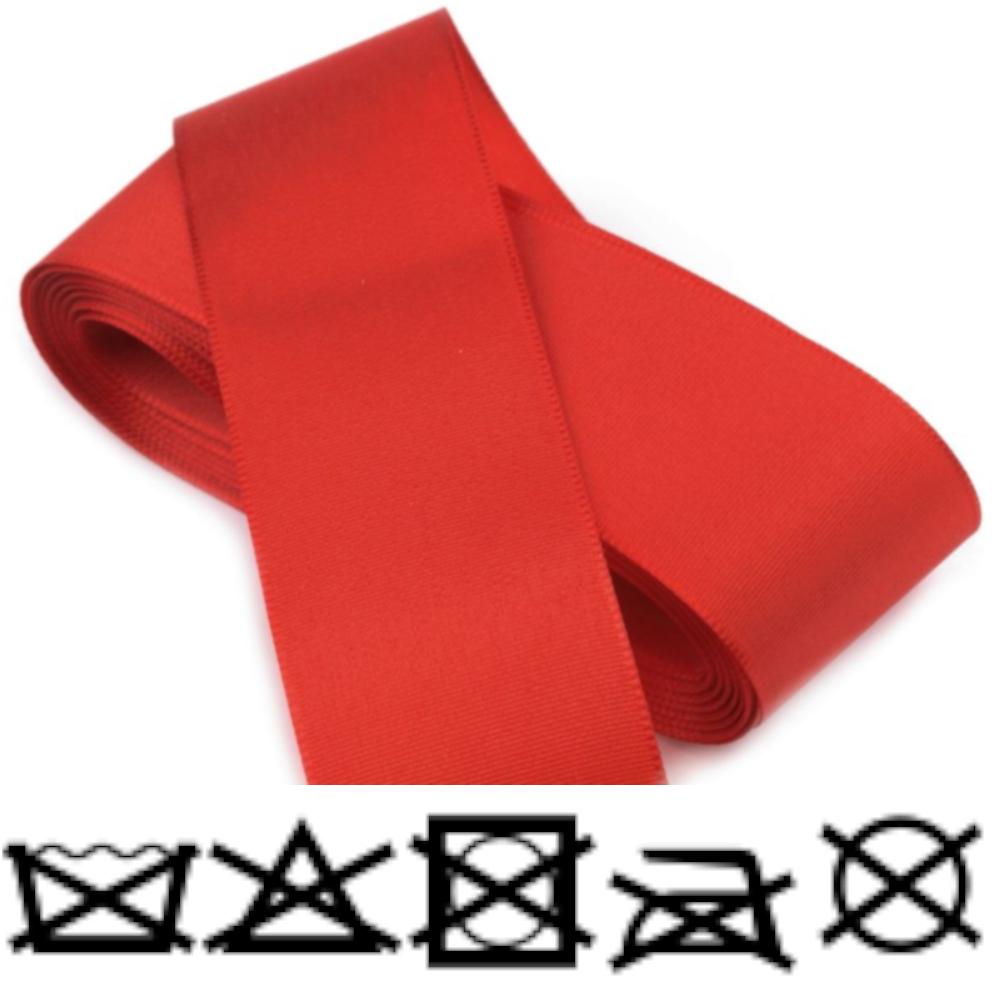 Taftband - Schleifenband - aus Polyester 52mm Breit in Scharlachrot
