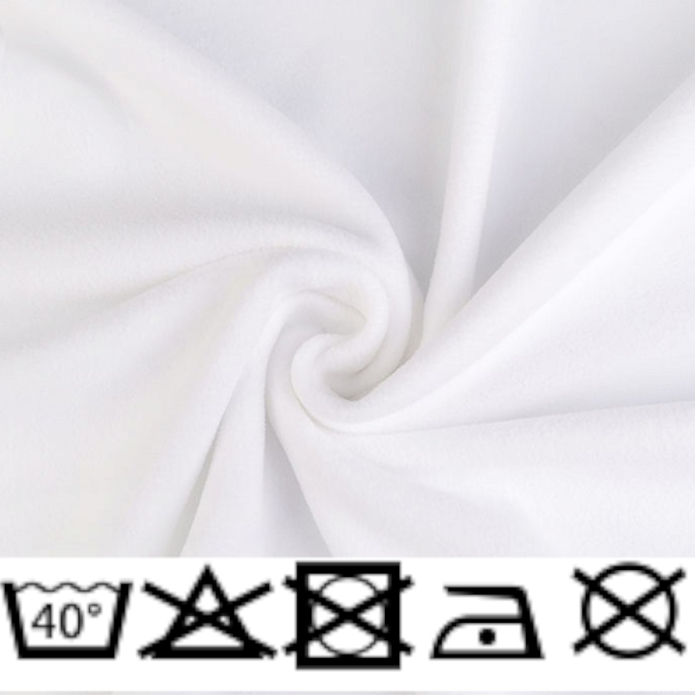 Polar Micro Fleece - 150cm - 240g/m² - Weiß (13)