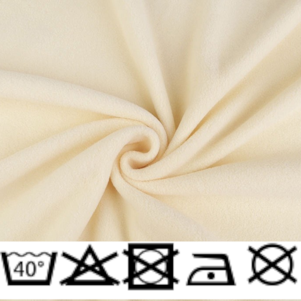 Polar Micro Fleece - 150cm - 240g/m² - Vanille (17)