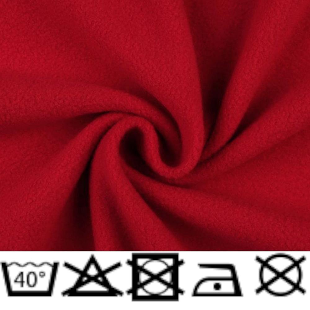 Polar Micro Fleece - 150cm - 240g/m² - Dunkelrot (27)