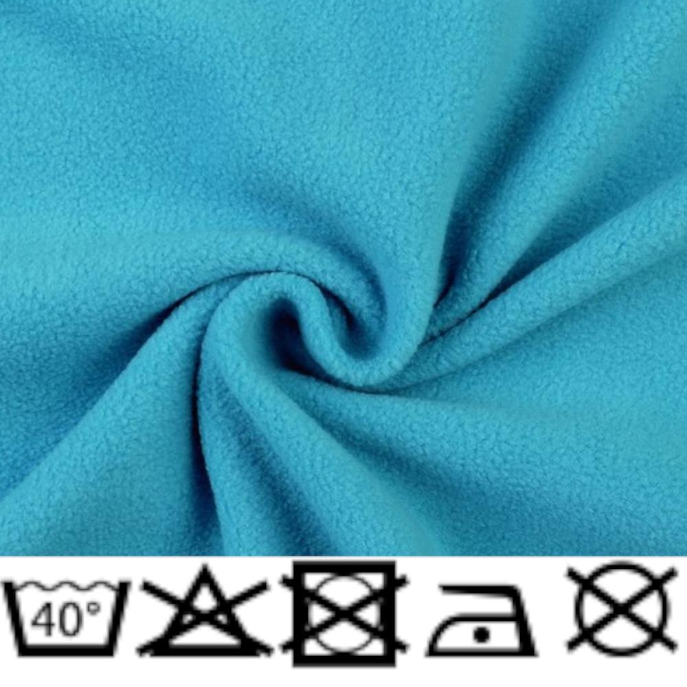 Polar Micro Fleece - 150cm - 240g/m² - Türkisblau (5)