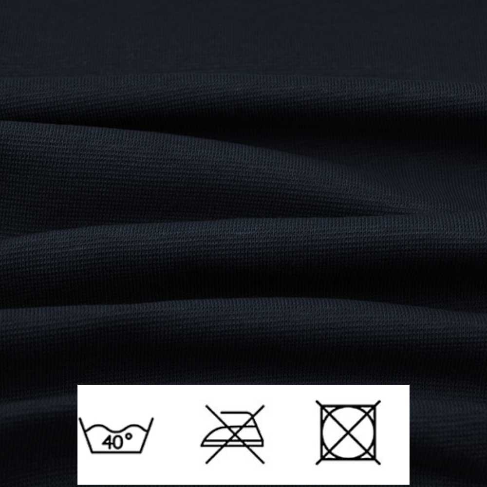 0,5m | Strickbündchen 70cm Breite in Marine