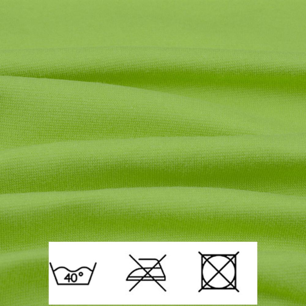 0,5m   Strickbündchen 70cm Breite in Lime
