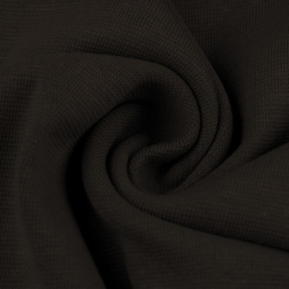 0,5m   Strickbündchen 70cm Breite in Dunkelbraun