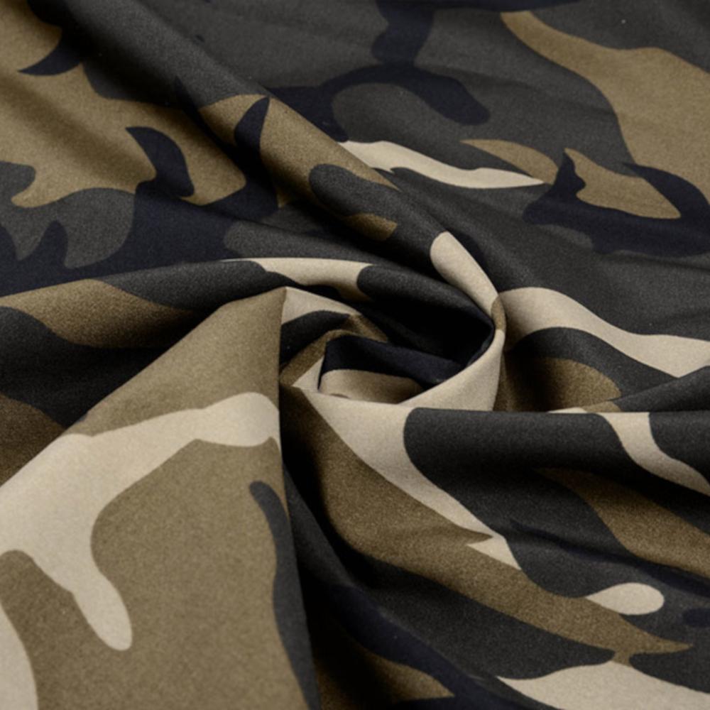 1m | Camouflage Polyester Stoff 150cm - wasserabweisend - Army